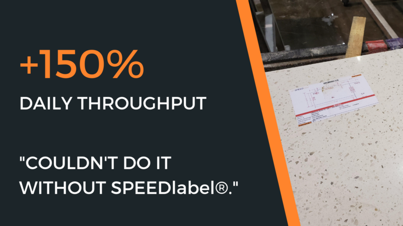 , Why Accent Countertops Depends on SPEEDlabel®